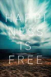happiness is free