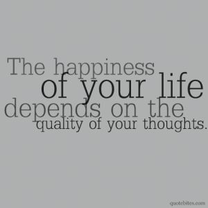 Happy Thoughts and Happy Life