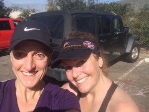 Tough Mudder Training: Polly Mertens & Amanda Leath