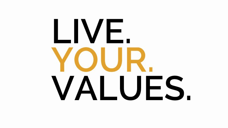 Liveyourvalues