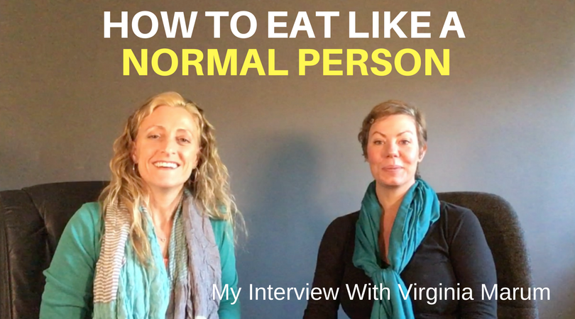 How To Eat Like A Normal Person [VIDEO]